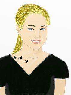 Shailene Woodley as Tris Prior (Divergent)
