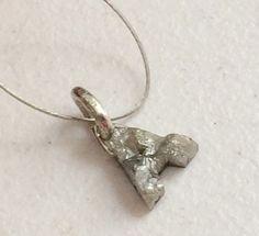 Diamond Initial Grey Monogram Initials Diamond by gemsforjewels