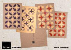 jwtwel, star pattern postcard. Risograph print #Risograph #riso #print #ansichtkaart #post #postcard #kaartje #kaart #decemberpost #A6 #jwtwel #star #retro #pattern #patroon #purple #paars #rood #red #metallicgold #christmas #december #kerst #newyear #onsalenow #sterren #sterpatroon #whishes #kerstmis #muskatbrown #dekijm #jwtwel @De Kijm & zonen Bijzonder drukwerk