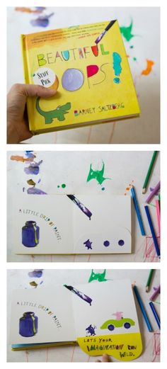 Beautiful Oops Book and Drawing Activity   The Artful Parent