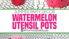 See how great the new line of Deco Art Americana Premium Paints blend together to create a beautiful watermelon canvas art this summer! Kids Canvas, Canvas Art, Beach Sand Castles, Americana Paint, Art For Kids, Crafts For Kids, Watermelon Birthday Parties, Summer Party Decorations, Tea Design