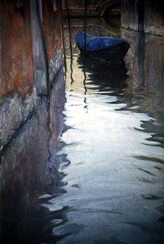 Ian Roberts , Venice in Fall on ArtStack #ian-roberts #art