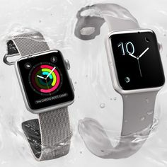 Targeted at swimmers, the second version of the divisive Apple Watch has been unveiled, along with the iPhone 7 and AirPod wireless headphones Apple Watch Men, Apple Watch Series 2, Iphone 7 Plus, Best Cv Template, Smart Fitness Tracker, Apple Watch Fitness, Xbox Wireless Controller, Mac Notebook, Newest Macbook Pro