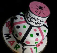 LE TORTE DI PATRICIA: Torta My Chemical Romance - My Chemical Romance ca...