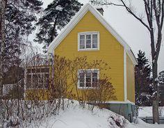 Yellow houses just look happy...