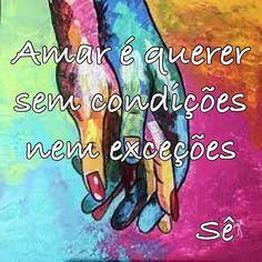 Bons dia e um domingo em paz #amor #paz# #amar #condições #exceção #frasesdeamor #pensamento #bomdia #tw