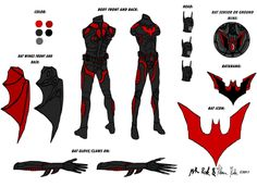 batman beyond suit design Batman Beyond Costume, Batman Beyond Suit, Batman Beyond Terry, Batman Costumes, Batman Suit, Godzilla Suit, Batman Armor, Batman The Dark Knight, Superhero Design
