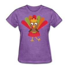 Turkey - Women's Thanksgiving T-Shirt