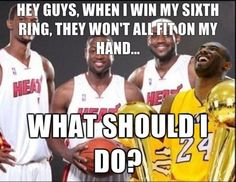 kobe  photos laughing | Derek Anderson Still Crying And Kobe Unsure Where To Put Ring Six