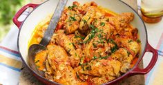 """""""yummyinmytumbly: """"Paprika chicken """" Submit your recipes to Tasty Gallery! Greek Recipes, Indian Food Recipes, Ethnic Recipes, African Recipes, Cetogenic Diet, Paprika Recipes, Star Food, Cooking Recipes, Healthy Recipes"""