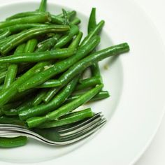 Steam green beans in either a steamer or your microwave until they are just done, you want them still firm. In my microwave it takes ...