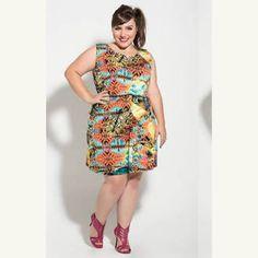 Bom diaaa, para começar o dia lindo com esse look mais lindo ainda!  Bem Alegre e bem colorido , já quero! Amo vestidos.  #bomdia #quinta-feira #lookinspiracao #inspiração #lookbook #look #amorproprio #amominhascurvas #gordinhavaiassim #gorda #plussize #trocadeestilos #modagg #curves #lookplussize #plussizebrasil #modafeminina #moda #instablog #modaplus #belezaplussize #modaplussize #instablogger #instalook #like #like4like #followme #followers