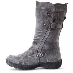 Henri Pierre® Women's 'Gayane' Waterproof Suede Boot - Sears | Sears Canada