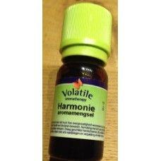 Harmonie aromamengsel etherische olie 5 ml Harmonie Met o.a. citroen, palmarosa en rozenhout. Deze geur is zacht en fris en praktisch iedereen vindt deze geur aangenaam.  Het schept vreugde en evenwicht.
