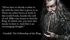 It's Monday, which means another round of #MovieQuoteMonday! Today's quote goes to #Gandalf