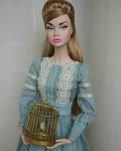 """Pretty """"Paper Doll"""" Poppy Parker wears it well, doesn't she?"""
