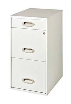 7. Hirsh 3-Drawer File Cabinet