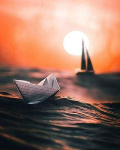 Hey peeps, here again! I created this image last year and am very proud of this piece. I created the paper boat and integrated… Cute Photography, Artistic Photography, Video Photography, Creative Photography, Still Life Photography, Digital Photography, Street Photography, Nature Photography, Photography Training