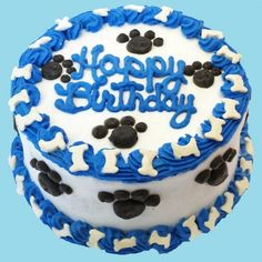 birthday cake for dogs