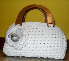 How to create a crochet bag with ribbon - Pane, Amore e Creatività   Pane, Amore e Creatività