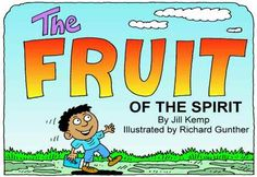 The Fruit of the Spirit Booklet and Illustrations (craft too!)