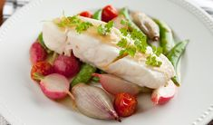 Olive Oil-Poached Halibut - In the Kitchen with Stefano Faita