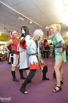 Naruto Shippuden Group cosplay @ MMC 2011, day 2 by SpirosK-wont comment often in July/August, sorry, via Flickr