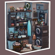 Hiding Places, Sims House, Nook, Sims Ideas, Challenges, Ts4 Cc, House Building, Animal Crossing, Miniature