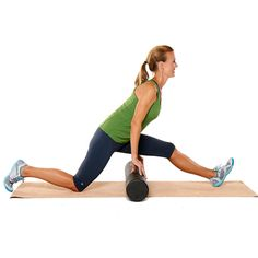 Hamstring Stretch With Foam Roller http://www.prevention.com/fitness/strength-training/best-exercises-to-ease-and-prevent-hip-pain/hamstring-stretch-foam-roller
