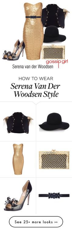"""Serena van der Woodsen inspired outfit/Gossip Girl"" by tvdsarahmichele on Polyvore"