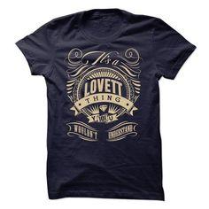 LOVETT THING T-SHIRT - #tee quotes #hoodie design. FASTER => https://www.sunfrog.com/No-Category/LOVETT-THING-T-SHIRT.html?68278
