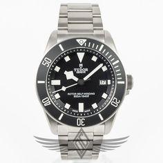 b9ff135c2 #Tudor #Pelagos 42mm Titanium Case and Bracelet Black Dial Black Bezel  Automatic Dive Watch