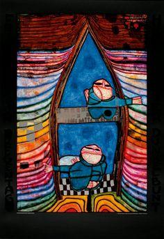 Friedensreich Hundertwasser : Tender Dinghi