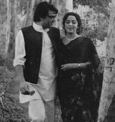Dharmendra and Hema Malini.