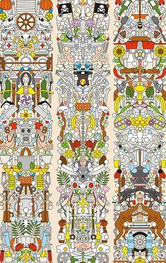 Archives-04 - Alt Deutsch - Artisanal Wallpaper from The Wallpaper Collective