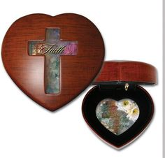 Faith Woodgrain Inspirational Cottage Garden Traditional Petite Heart Music Box Plays Amazing Grace * Want to know more, click on the image.