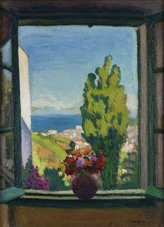 ALBERT MARQUET Window in Algiers (1932)