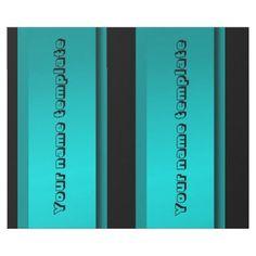 Personalized gift paper festive monochrome wrapping paper - wrapping paper custom diy cyo personalize unique present gift idea