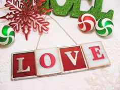 LOVE by MoreThanColors on Etsy, $24.50