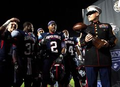 Are You Ready for Some Football? (U.S. Marine Corps photo by Sgt. Scott Schmidt)