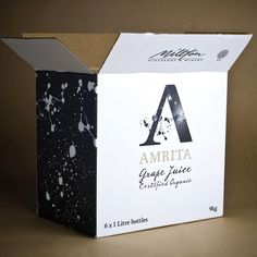 AMRITA GRAPE JUICE by Wayne Morpeth, via Behance
