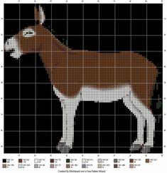 Donkey Cross Stitch Patterns
