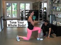 3-Part Workout to Tone Your Whole Body - YouTube