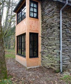hout en steen bron: les cabanes de rensiwez