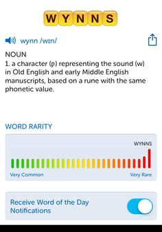 The best word I've seen today on Words with Friends is 'wynns'. Can you come up with a better one?