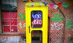 Coin-operated mini-disco lets you dance the night away inside a pay phone