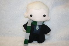 Your place to buy and sell all things handmade Harry Potter Toys, Plushie Patterns, Slytherin House, Draco Malfoy, Crochet Accessories, Plushies, Pet Toys, Hogwarts, Crochet Projects