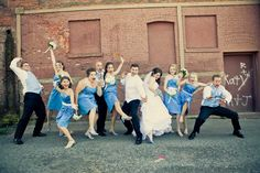 Our Awesome Bridal Party Picture :-)