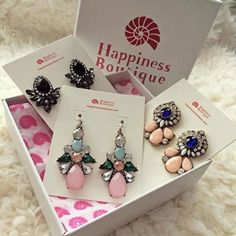 Ecstasy Statement Earrings - #fashion #style #fashionista #photooftheday #jewelry #earrings -  14,90 € @happinessboutique.com