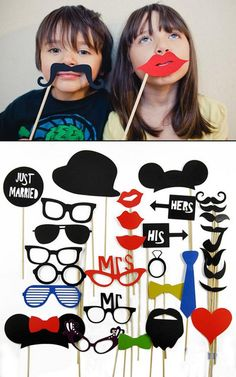 Set of 31 Paper Mustache On A Stick Wedding Photo Booth Props Photobooth Funny Party Masks Props Photobooth, Wedding Photo Booth Props, Party Masks, Paper Mask, Mustache, Party Supplies, Birthday Ideas, Wedding Photos, Manualidades